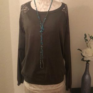 Tops - 2X Olive Green Top